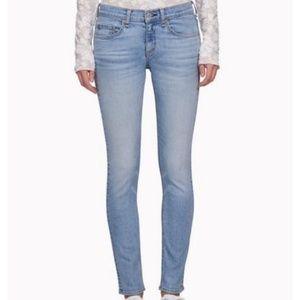 Rag and Bone Ankle Skinny Light Wash Jeans